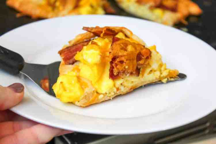 Bacon, Egg & Cheese Crescent Ring