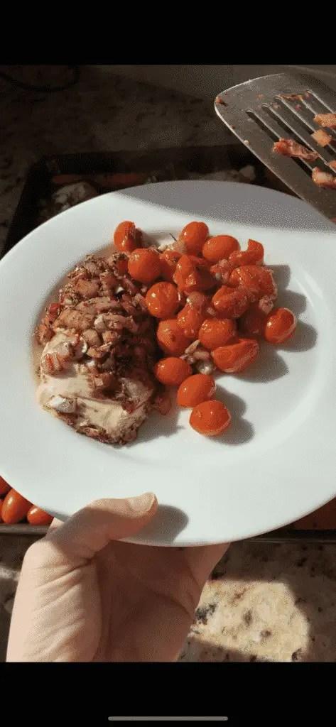 Sheet Pan Balsamic Chicken