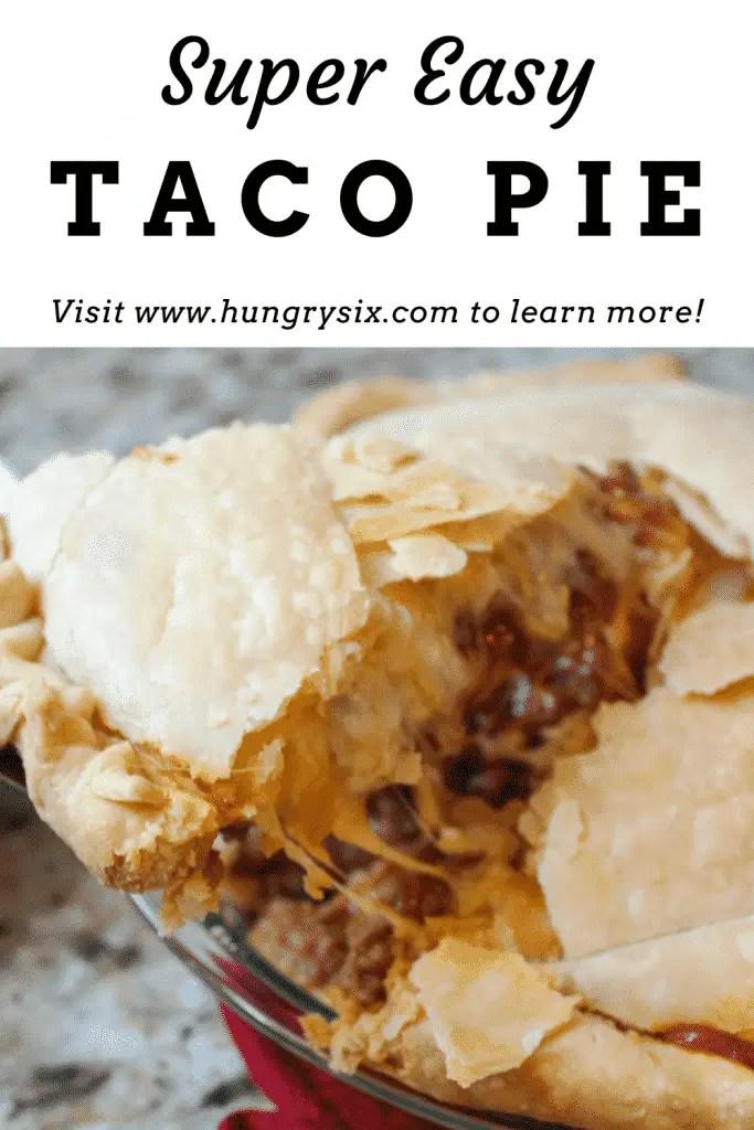 Super Easy Taco Pie