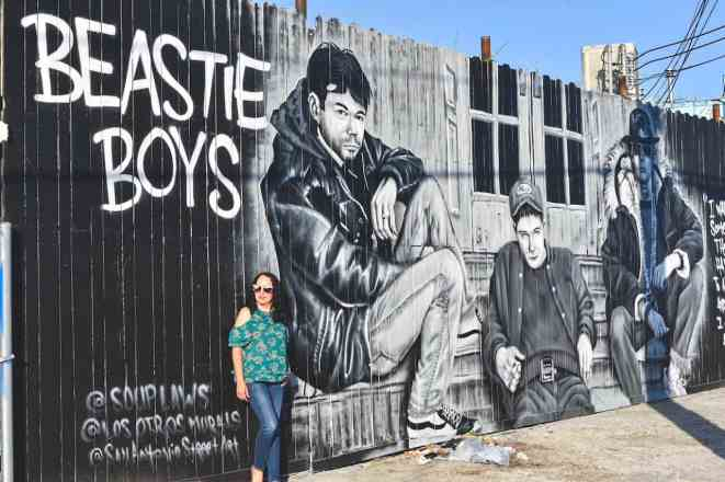 Beastie Boys Mural In San Antonio