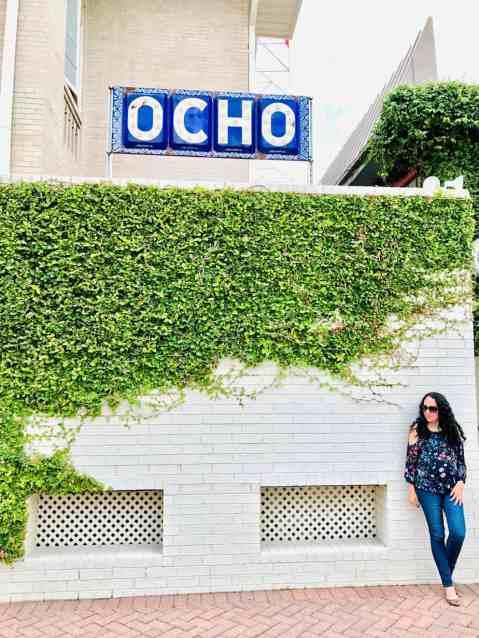 Hotel Havana Ocho Resturant Mural