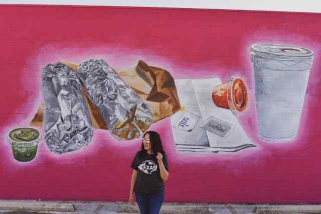 San Antonio Taco Mural