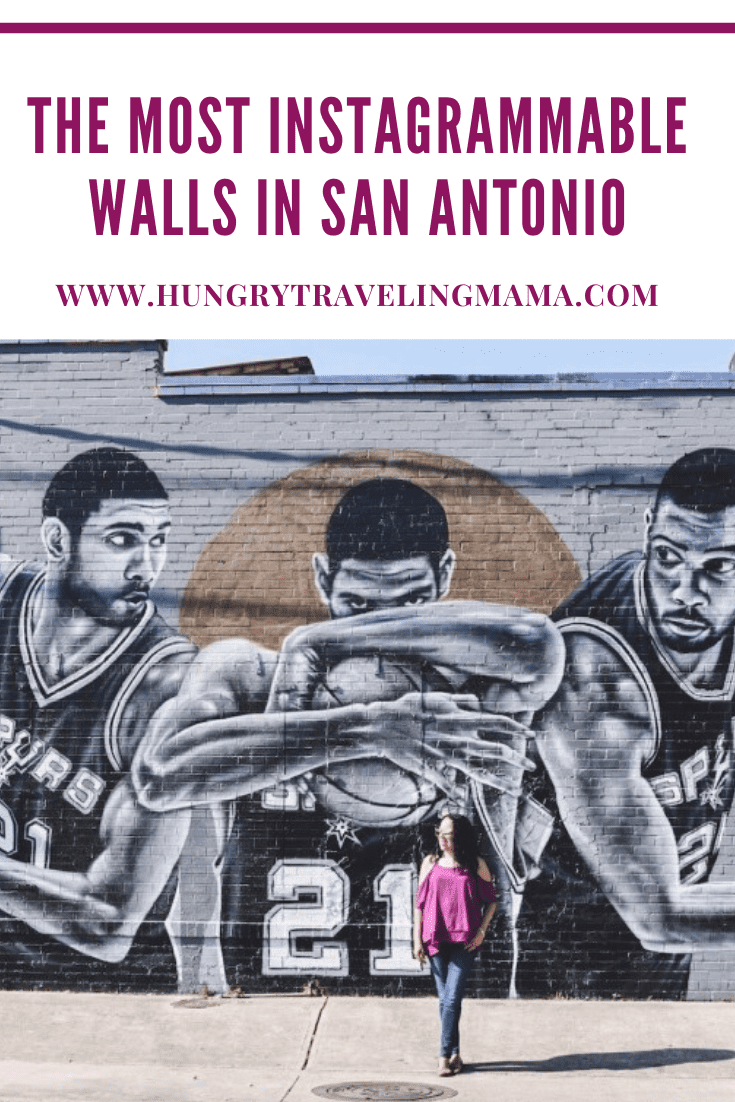 Tim Duncan mural in san antonio