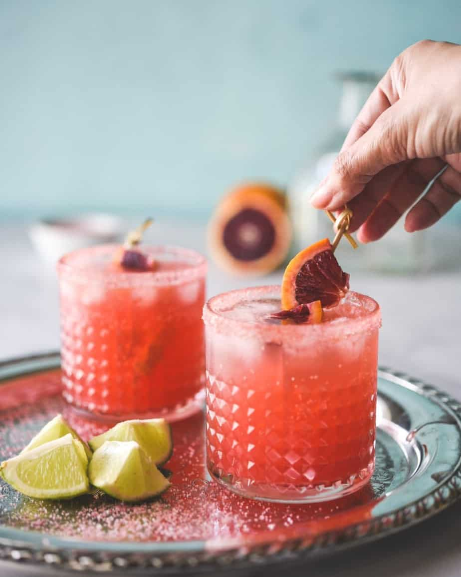 The Best Blood Orange Margarita
