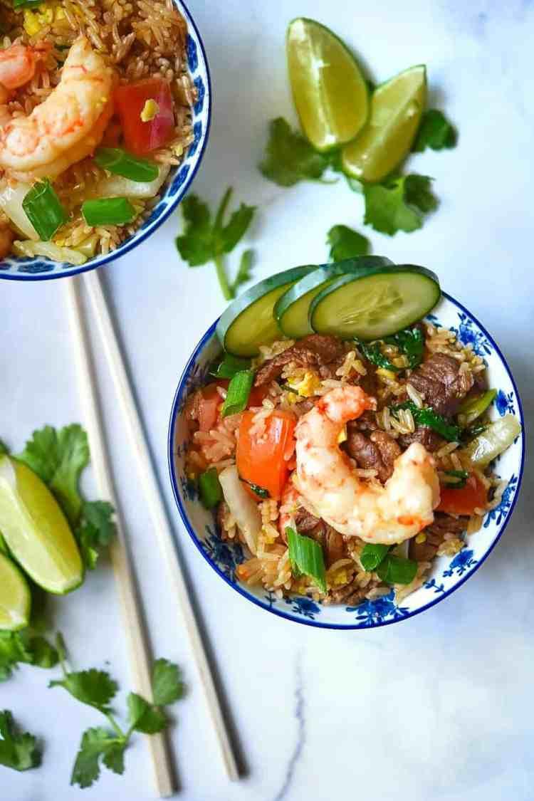 Thai Fried Rice Khao Phat Gai