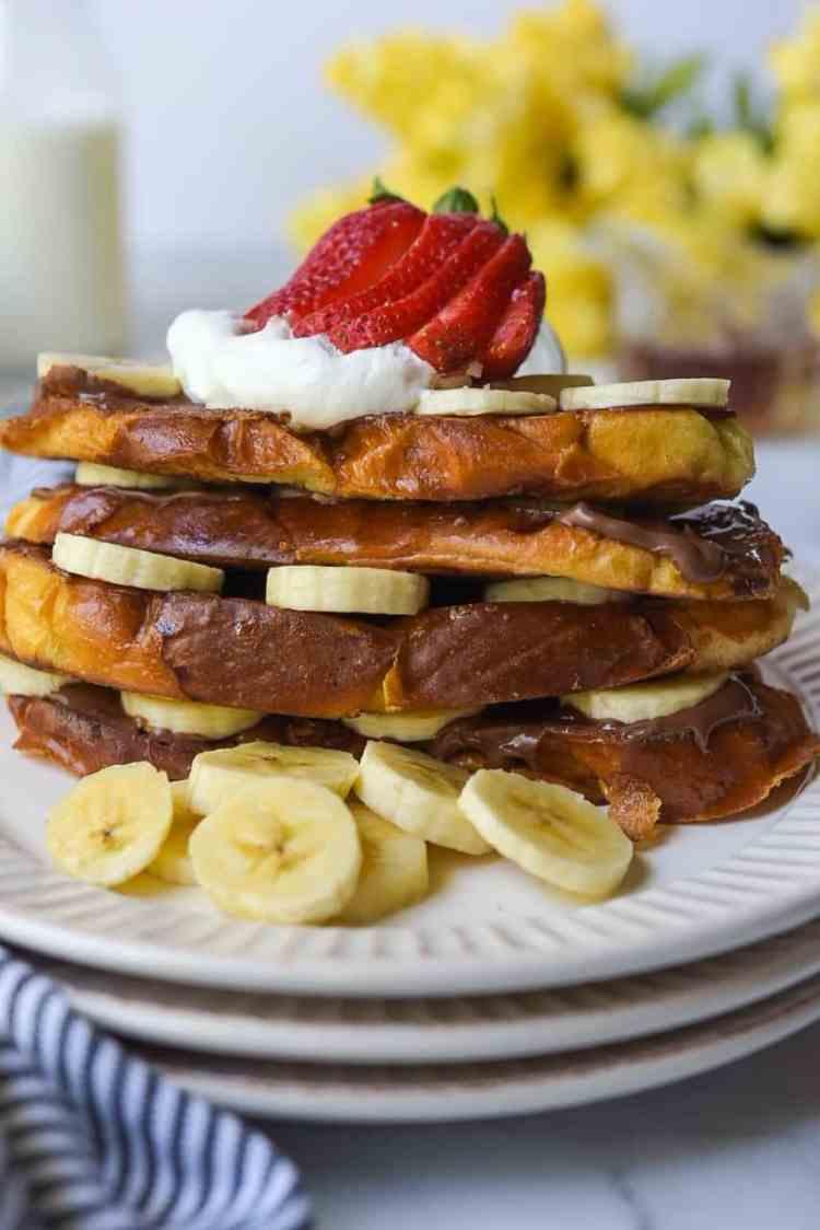 Nutella Banana Frenchg Toast