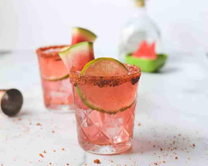 Easy Watermelon Margarita