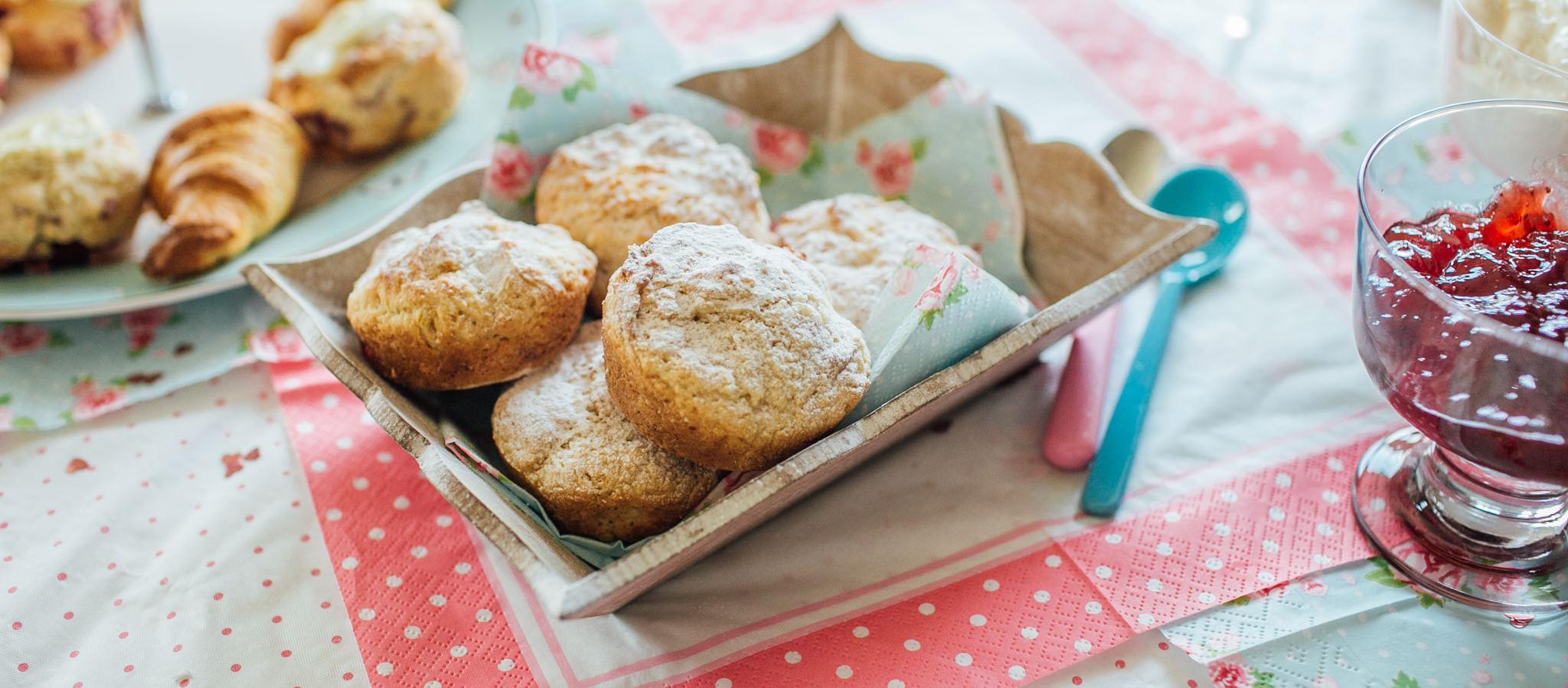 Homemade scone recipe