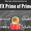 FX Prime of Prime needs
