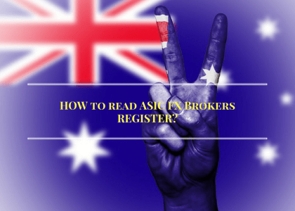 How to Read ASIC FX Brokers Register