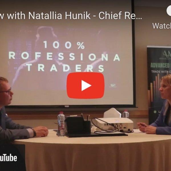 Finance Feeds Interview with Natallia Hunik in Dubai, 2021