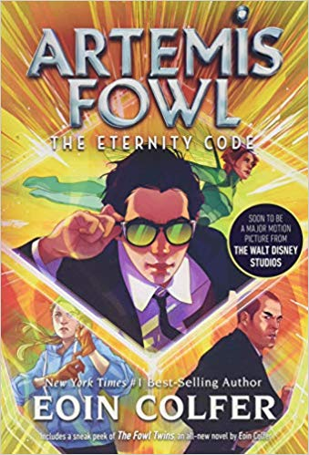 The Eternity Code- Artemis Fowl, Book 3