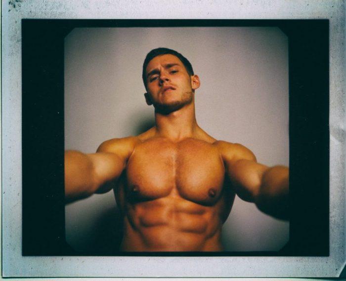 Male Model Anatoly Goncharov