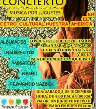 CONCIERTO MUSICA Y JUGUETES
