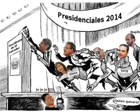 La carrera presidencial