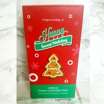 ::HOLIDAY CLEANSER:: Tony Moly Sweet Holiday Foam Cleanser Duo! Heyhunnyy