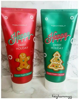 ::HOLIDAY CLEANSER:: Tony Moly Sweet Holiday Foam Cleanser Duo!