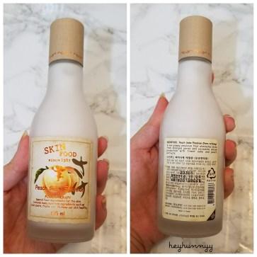 ::REVIEW:: SkinFood Peach Sake Emulsion!