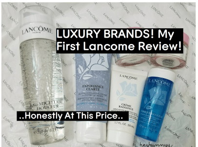 ::HunnyyIndex:: Every Single Lancome Product I've Ever Tried!
