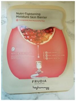 ::REVIEW:: Frudia - Pomegranate NutriMoisturizing Mask!