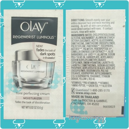 ::REVIEW:: Olay Tone Perfecting Cream!