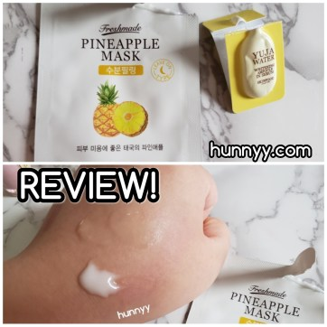 ::REVIEW:: Skinfood - Pineapple Mask! hunnyy