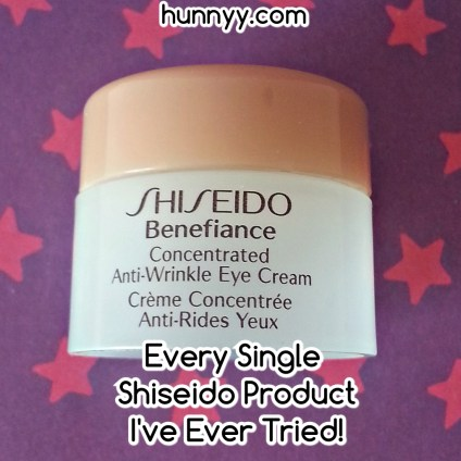 ::HunnyyIndex:: My Shiseido Collection!