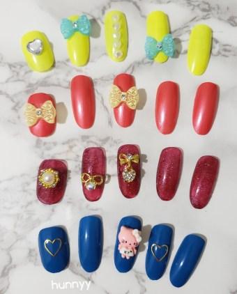 ::Hunnyy:: Nail Inspiration! 3D Nail Art!