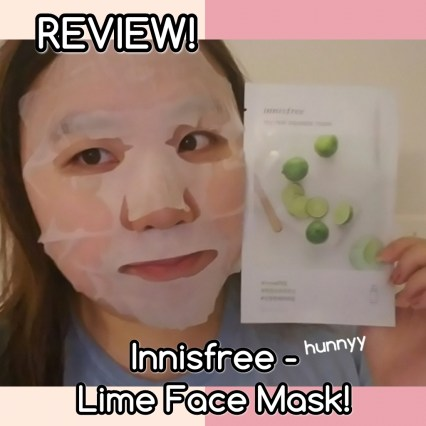 ::REVIEW:: Innisfree - It's Real Squeeze Lime Face Mask! hunnyy.com