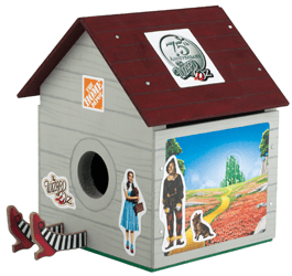 Wizard of Oz TM Birdhouse FREE Build a Wizard of Oz TM Birdhouse Workshop For Kids at Home Depot on 9/6