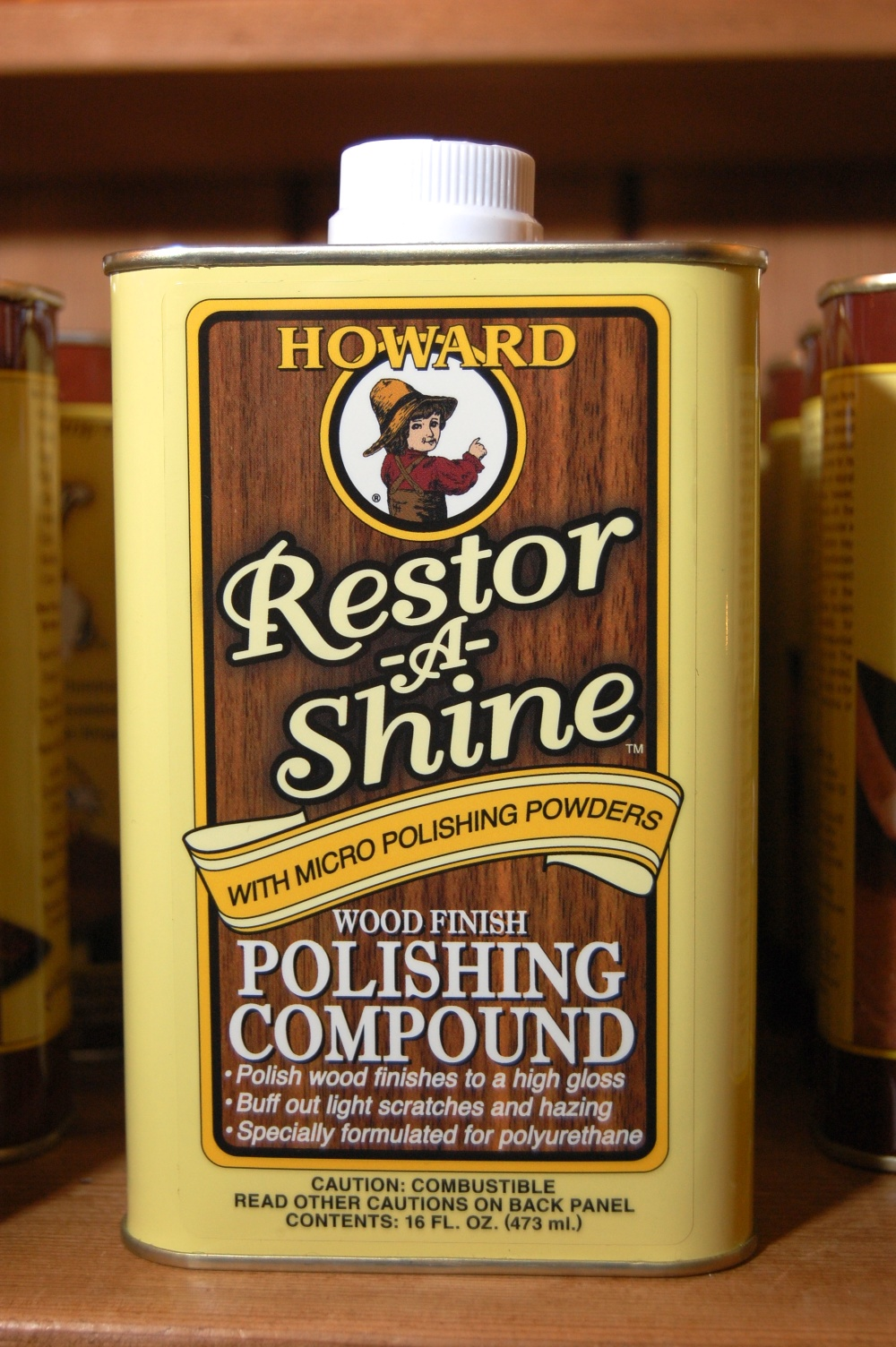 wood polishing compound