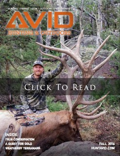 AVID Hunting and Outdoors Digital Magazine