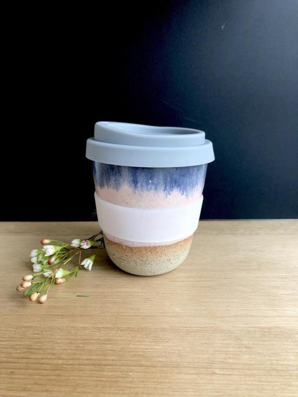 Handmade ceramic Dusk keep cup hunter and the fox australia2