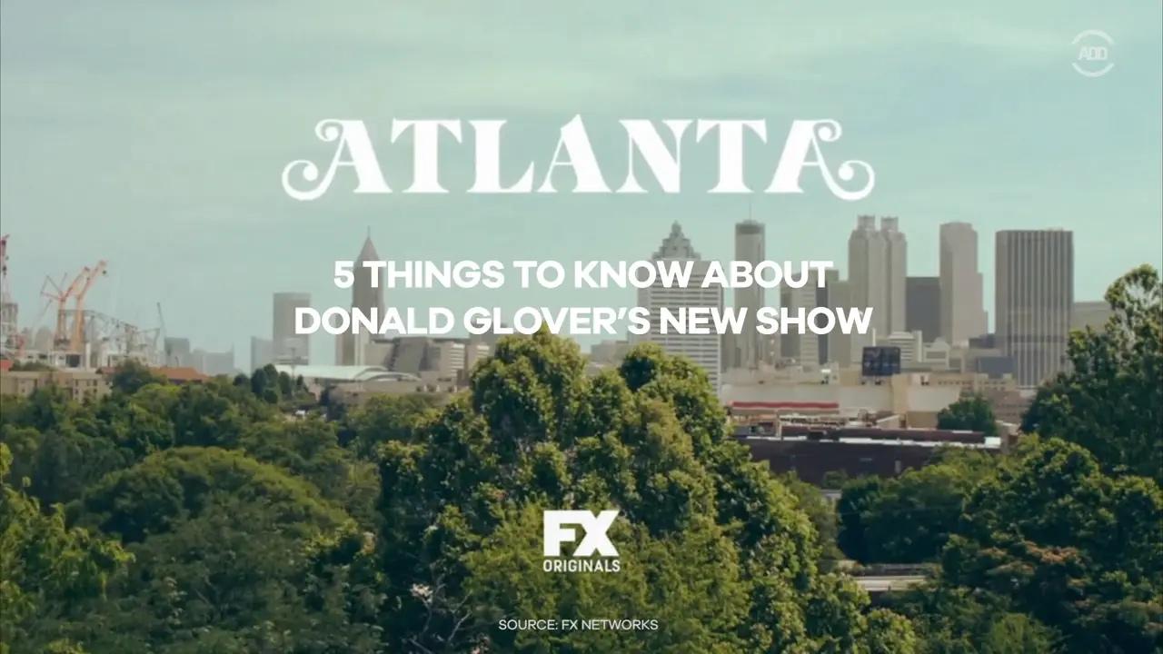 Atlanta FX Donald Glover