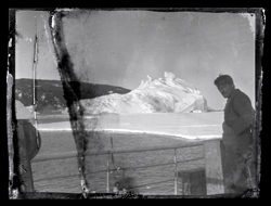 Alexander Stevens onboard Aurora © Antarctic Heritage Trust, nzaht.org