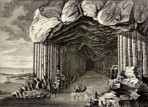 Figure 1 Fingal's cave (Pennant 1774, 263)