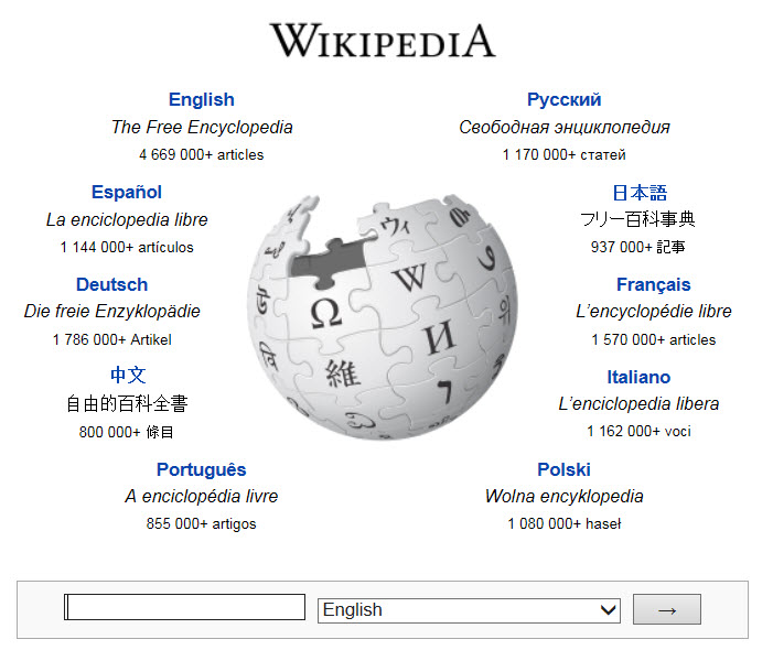 WikipediaWorld