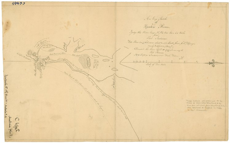 An Eye Sketch of Hunter's River 1797