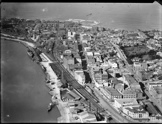 Newcastle aerial, 1935 (Image 68/14 Courtesy of Phillip Warren)