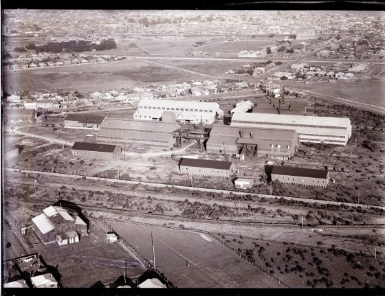Newcastle aerial, 1935 (Image 71 Courtesy of Phillip Warren)