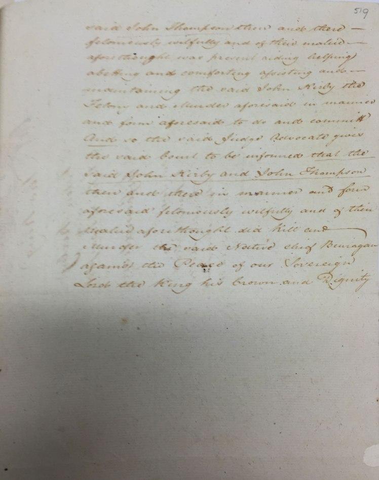 SZ792 p.519 (Image Credit: Fiona Sullivan, State Records NSW)