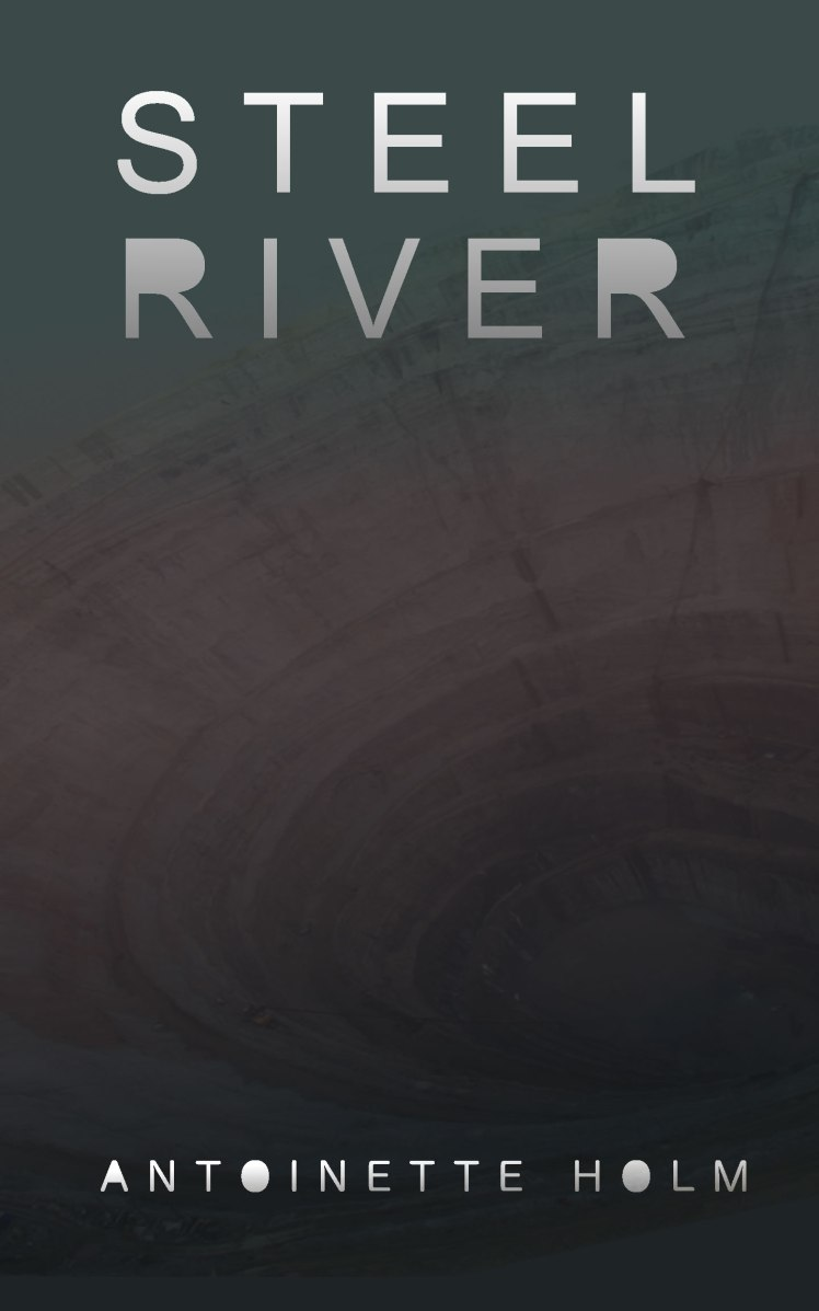 Steel River by Antoinette Holm