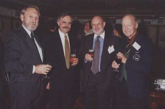 Prof Godfrey at a Uni event