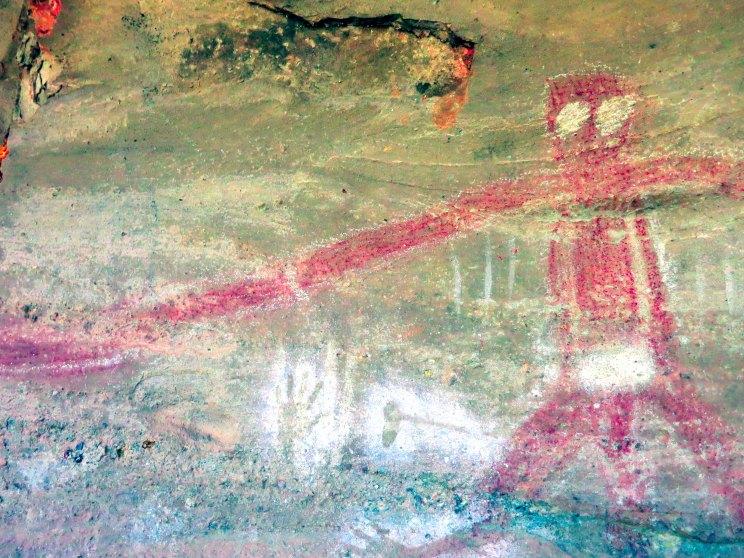 Baiame Cave (Detail)