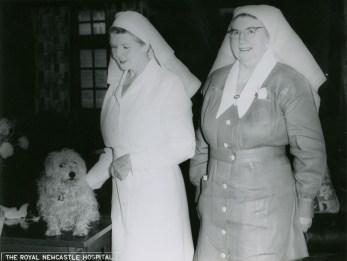 Matron Irene Slater Hall on the left