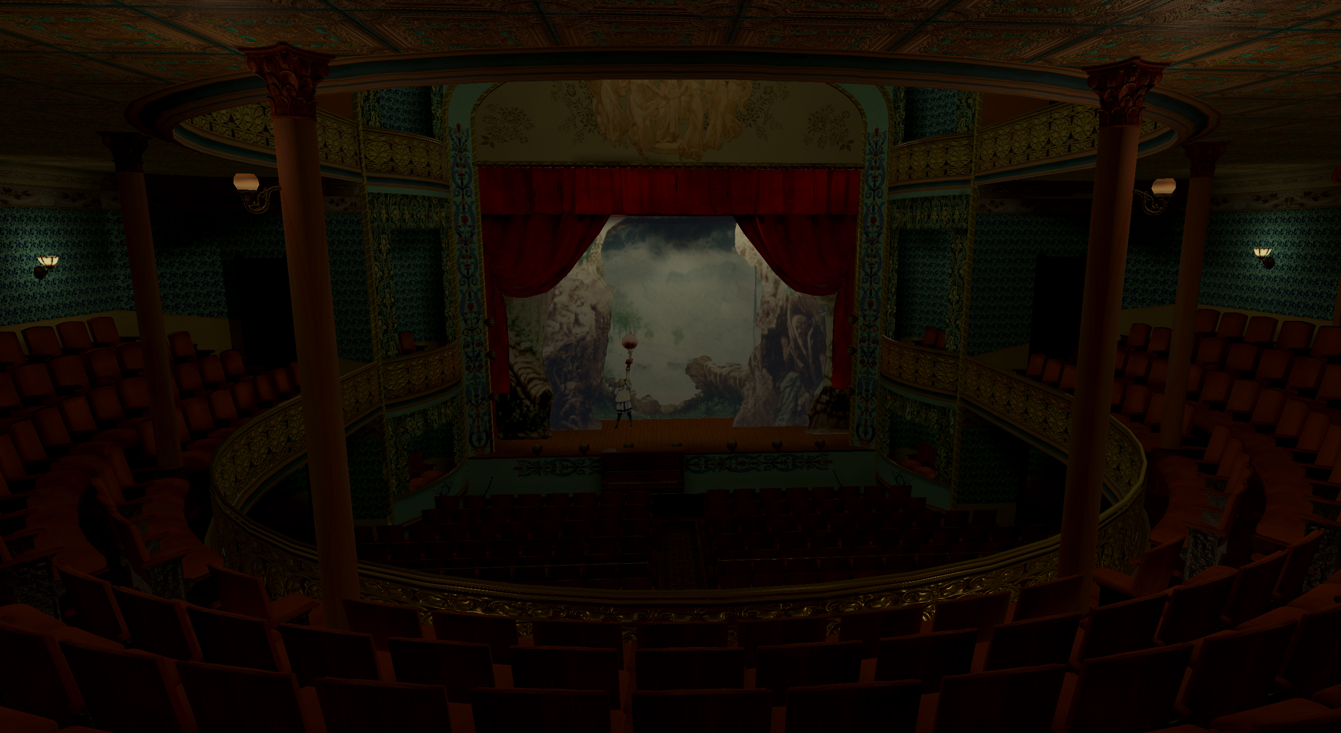 Victoria Theatre 3D Virtual Reality Reconstruction Nearing