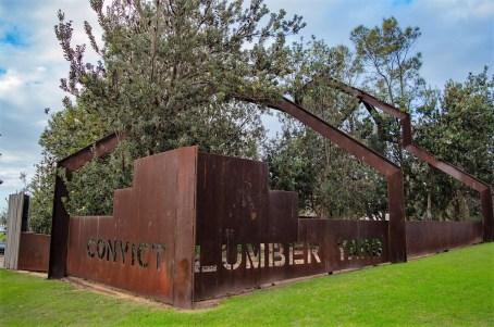 Convict Lunber Yard Structure