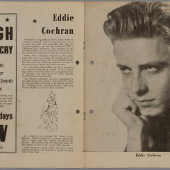 1957 Australian Tour Booklet (Eddie Cochran) (Courtesy of Museum of Applied Arts & Sciences: https://collection.maas.museum/object/164523)