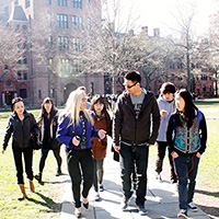 Hunter Programs college campus tour