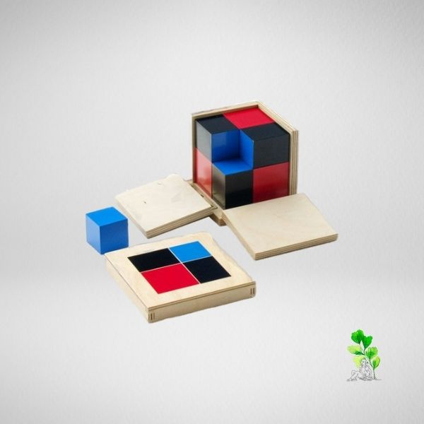 HuntersWoodsPH Checklist Sensorial Montessori Materials Toddler Preschool Binomial Cube